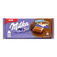 Milka Oreo Choco Sütlü Çikolata Kaplı Bsküvi Parça 100G