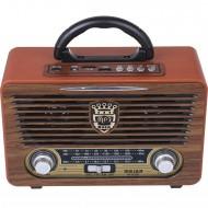 Meier M-115BT Vintage Bluetootlu Nostaljik Radyo Ahşap