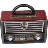 Meier M-113BT Vintage Bluetootlu Nostaljik Radyo Ahşap