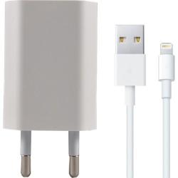 Powerstar Apple iPhone 5 6 7 8 x 11 Şarj Aleti Adaptör Lightning Kablo 1A  Scı-02