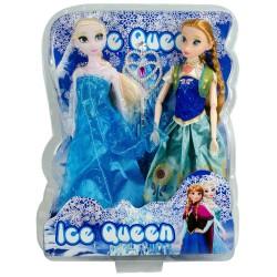 Frozen Elsa Fashion Elbiseli Oyuncak Bebek Seti Büyük Boy