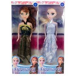 Frozen Elsa Fashion Elbiseli Oyuncak Bebek Seti Büyük Boy 29 Cm
