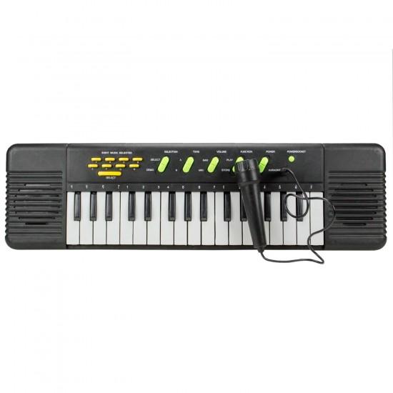 32 Tuşlu Org Pilli Mikrofonlu Piyano Oyuncak