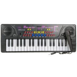 37 Tuşlu Org Pilli Mikrofonlu Piyano Oyuncak