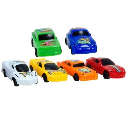6lı Oyuncak Yarış Arabası Seti