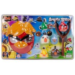 Angry Birds Kızgın Kuşlar Maskeli ve Sapanlı Oyun Seti
