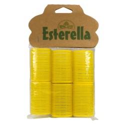 Esterella 8248 Yapışkan Bigudi Büyük Bukleler 6lı
