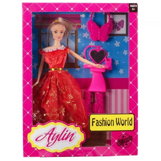 Aylin Bebek Fashion World Barbie Bebek Oyuncak Seti 28 Cm