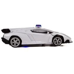 HD-33 Uzaktan Kumandalı Çılgın Robot Polis Arabası