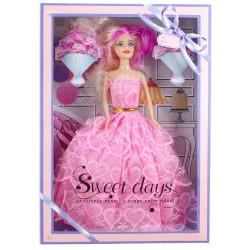 Sweet Days Barbie Bebek Oyuncak Seti Hediyelik