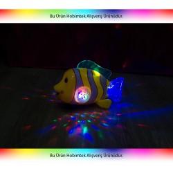 HD-38 Kırılmaz Oyuncak Müzikli Dans Eden Palyaço Balığı Disko Işıklı