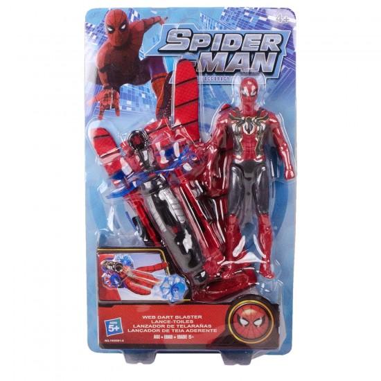 Spiderman Ağ Ve Ok Atan Eldiven - Örümcek Adam Figürlü