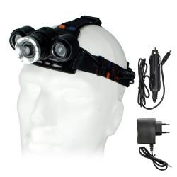HD-99722 10W Waterproof Profesyonel Kafa Lambası Şarjlı