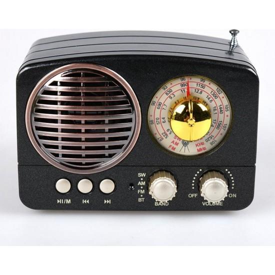 Meier M-161BT Bluetooth Radyo Müzik Kutusu MP3 14 Cm