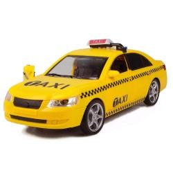 HD-57 Ticari Taksi Sürtmeli Kırılmaz Oyuncak Sesli Işıklı 24 Cm