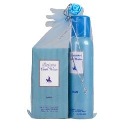 Purixima Cool Water Erkek EDT 50ml Parfüm ve Deo 150 ml Set
