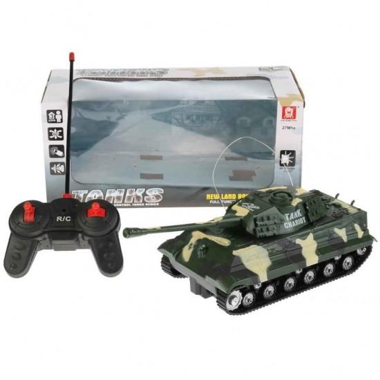 AKX527 Uzaktan Kumandalı Leopar Tank Sesli ve Işıklı Oyuncak