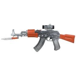 Hobimtek Oyuncak Silah Işıklı Titreşimli Sesli 51 Cm