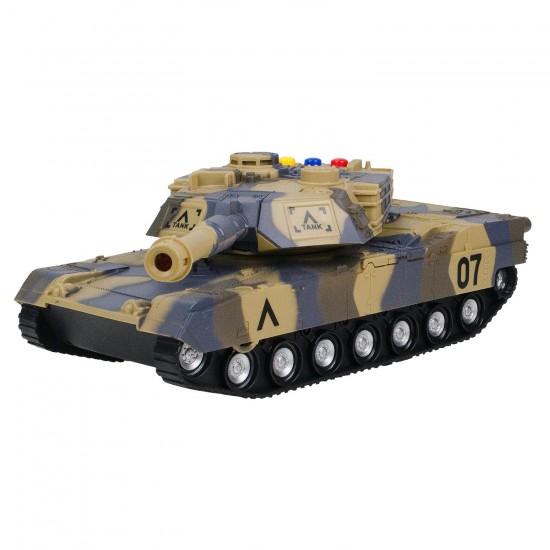 HD-106 Oyuncak Tank 25 Cm Sesli Işıklı
