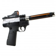 HD-114 Oyuncak Silah Sesli Işıklı Hareketli Lazerli Tabanca 26 Cm