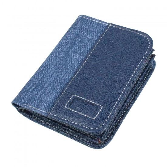 CL14-5 Erkek Cüzdan 18 Kart Alır Mavi