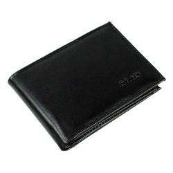 CS-04 Suni Deri Cüzdan 10 Kartlık Kağıt ve Bozuk Para Bölmeli