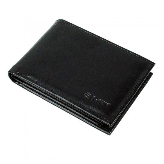 CS-05 Suni Deri Cüzdan 14 Kartlık Kağıt Para Bölmeli