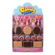 Candy Sweet Oyuncak Pasta Seti 16 Parça