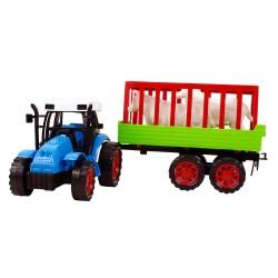 CS-15 Hayvanlı Traktör Oyuncak Seti Tarlanın Kralı