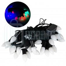 4,5 Metre 27 Adet Elektrikli LED Bahçe Süs Dekoratif Işık OR4
