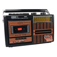 Nostaljik Radyo Retro Ahşap USB Micro SD MP3 Çalar 27cm