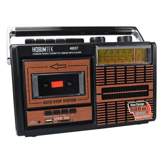 Tepe Fp-319U Radyo Kaset Çalar Büyük Boy Bluetoothlu