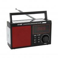 NNS NS-2036S Solar Bluetooth Radyo Güneş Enerjili Gece Lambalı 19 Cm