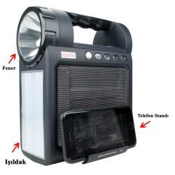 Hobimtek Hp-26 Işıldak ve El Feneri Bluetooth Radyo