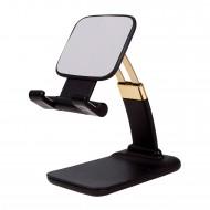 Masaüstü Telefon ve Tablet Tutucu Katlanabilir Küçük Esnek