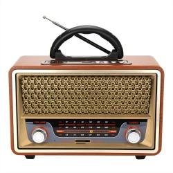 Meier M-157BT Nostaljik Bluetooth Radyo MP3 24 Cm