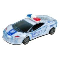 Kırılmaz Ekstra Korumalı Sürtmeli Oyuncak Polis Arabası 16Cm