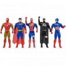 Avengers Süper Kahramanlar 5li Figür Oyuncak Seti Büyük Boy