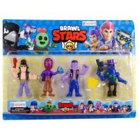 Brawl Stars Figürleri 4lü Oyuncak Seti