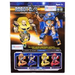 Transformers Dönüşen Silahlı Robot Araba Sesli Işıklı 25 Cm