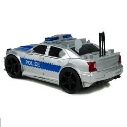 Kırılmaz Sürtmeli Oyuncak Polis Arabası Sesli Işıklı 19 Cm v2