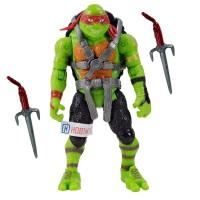Ninja Kaplumbağalar 2 Raphael Oyuncak Gerçek Doku Ful Eklem