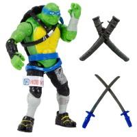 Ninja Kaplumbağalar 2 Leonardo Oyuncak Gerçek Doku Ful Eklem