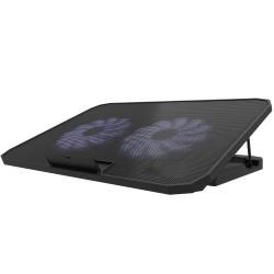 ErgoStand 2 x 14 Cm Fanlı Süper Sessiz 5 Kademeli Notebook Soğutucu