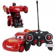 Cars Şimşek Mcqueen Uzaktan Kumandalı Araba Dönüşen Robot