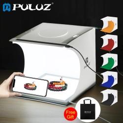 Puluz PU5137 Gölge Önleyici LED Zemin Ürün Çekim Çadırı 23 x 23