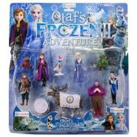 Frozen Elsa 10 Figürlü Oyuncak Figür Seti