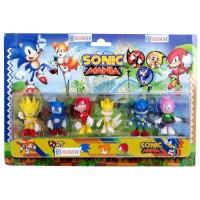 Sonic Mania Adventures 6 Figürlü Oyuncak Seti