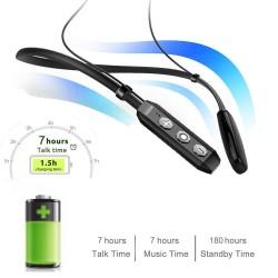 Hobimtek HT06 Bluetooth Spor Kulaklık Mıknatıslı Boyun Bandı