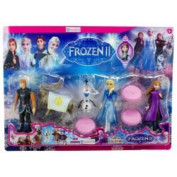 Frozen Elsa Oyuncak Figür Seti